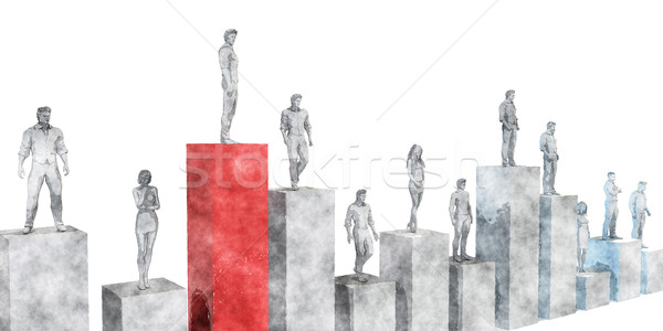 Career Growth Stock photo © kentoh