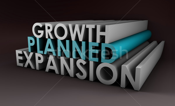 Planned Expansion Stock photo © kentoh