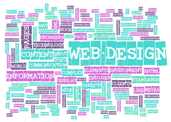Web Design Stock photo © kentoh