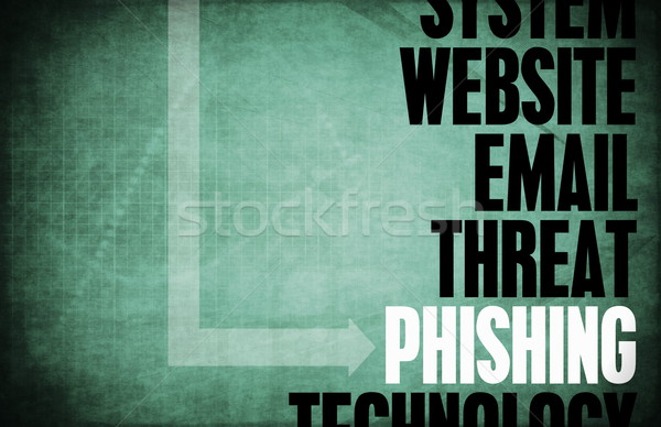 Phishing ordinateur sécurité menace protection réseau Photo stock © kentoh