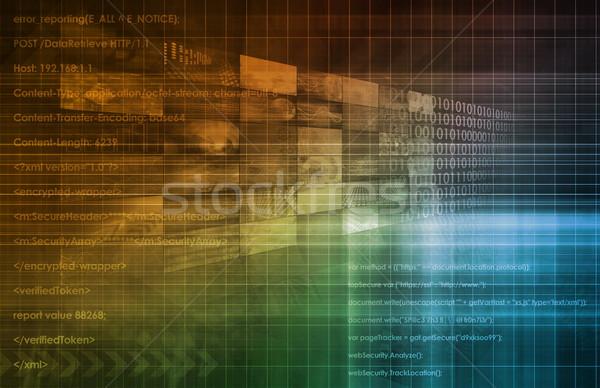 Web Engineering Stock photo © kentoh