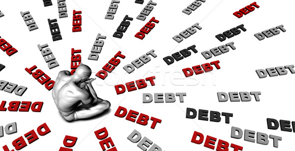 Debt Stock photo © kentoh
