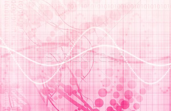 Dados analítica gestão grande negócio servidor Foto stock © kentoh