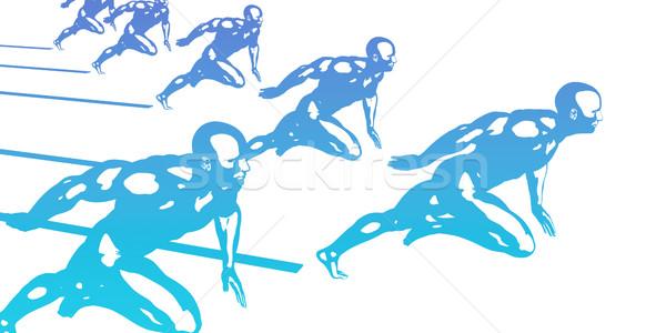 ストックフォト: スポーツ · 技術 · 抽象的な · ビジネス · フィットネス · 健康
