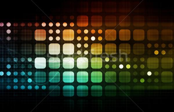 Nowoczesne technologii medycznych przemysłowych przyszłości Zdjęcia stock © kentoh