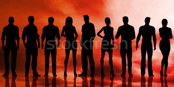 Humanismo recursos departamento perfeito candidato corporativo Foto stock © kentoh