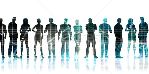 Ondernemer vaardigheden belangrijk technologie achtergrond Stockfoto © kentoh