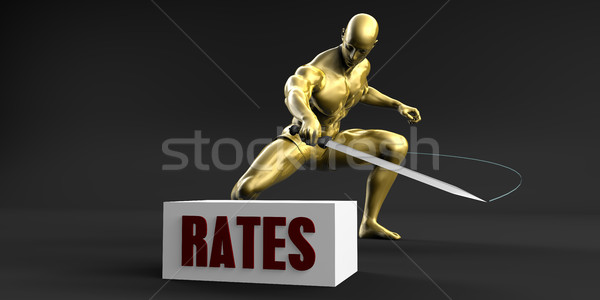 Reduce Rates Stock photo © kentoh