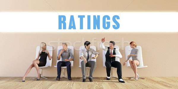 Business Ratings Stock photo © kentoh