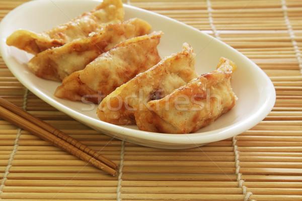 Fried Dumplings Stock photo © kentoh