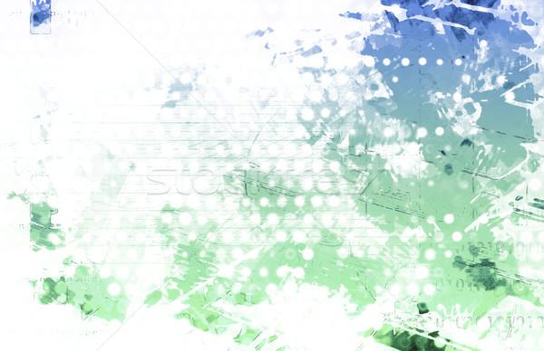 Artistic Grunge Splatter Stock photo © kentoh