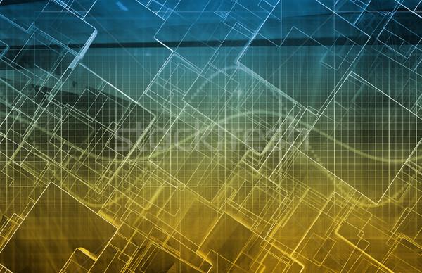 Informazioni scambio trasferire conoscenza business computer Foto d'archivio © kentoh