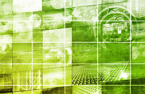 Business Mobilität zugreifen Technologie Hintergrund Netzwerk Stock foto © kentoh