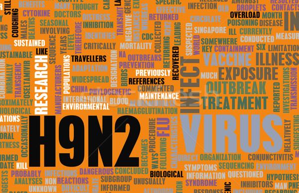 Medische onderzoek onderwerp abstract geneeskunde informatie Stockfoto © kentoh