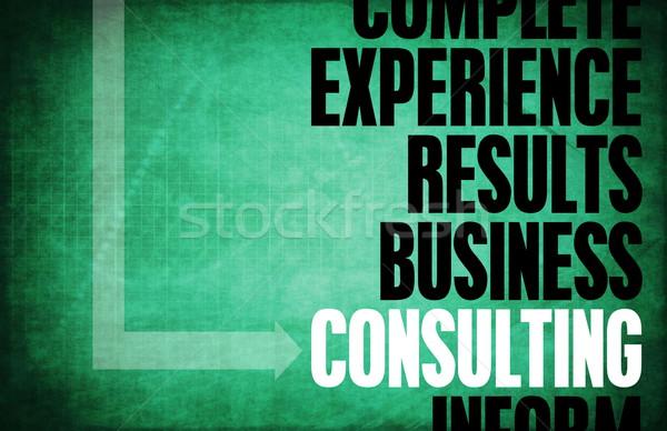 コンサルティング コア 原則 ビジネス レトロな デジタル ストックフォト © kentoh
