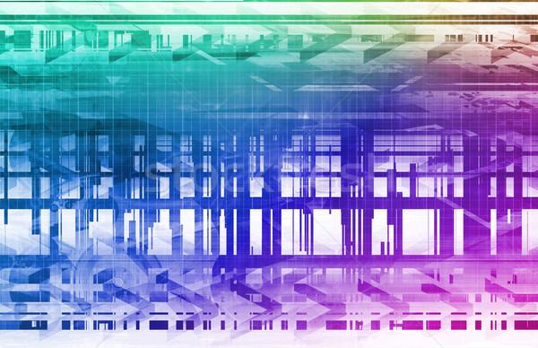 Digital Security Stock photo © kentoh