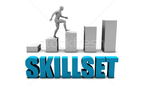 Skillset Stock photo © kentoh