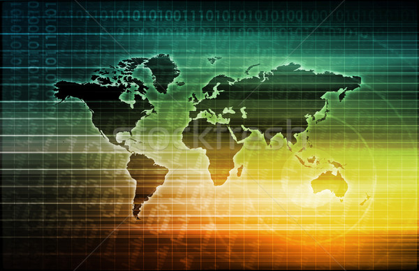 Telecommunications System Stock photo © kentoh