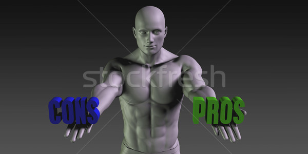 Pros vs Cons Stock photo © kentoh