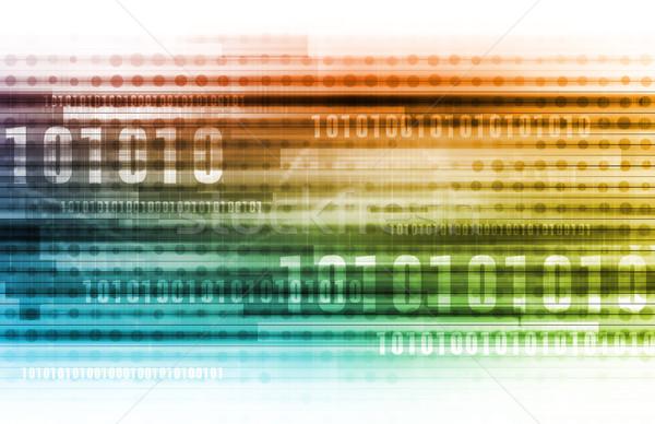 Segurança de dados internet pessoal informações negócio tecnologia Foto stock © kentoh