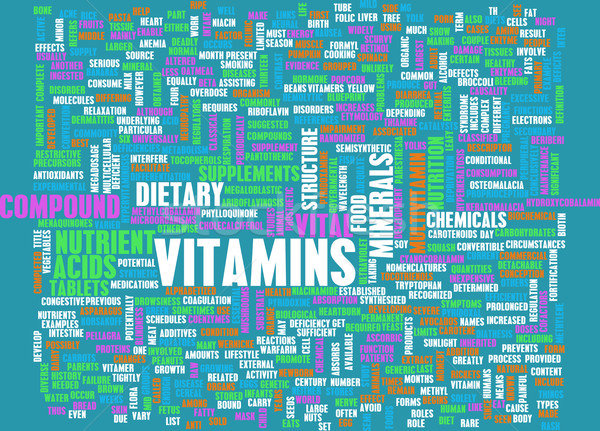 Vitamins Stock photo © kentoh