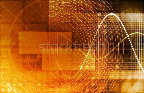 Adat folyam internet digitális információ mozog Stock fotó © kentoh