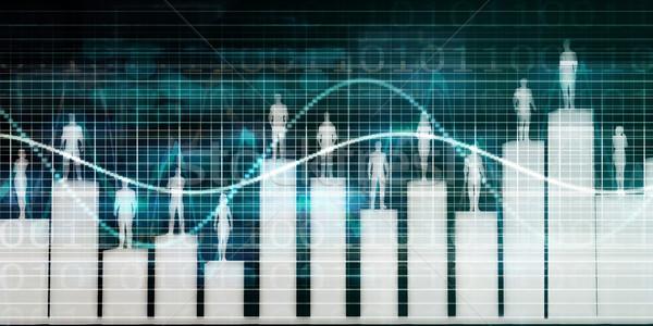 Foto stock: Trabalho · em · equipe · negócio · diferente · habilidades · acelerar · equipe