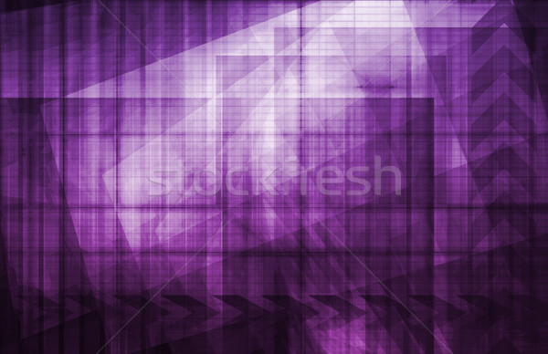 Technology Abstract Stock photo © kentoh