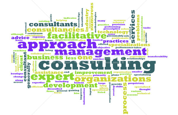 Management Consulting Stock photo © kentoh