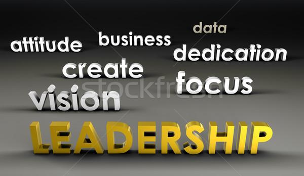 Leadership at the Forefront Stock photo © kentoh