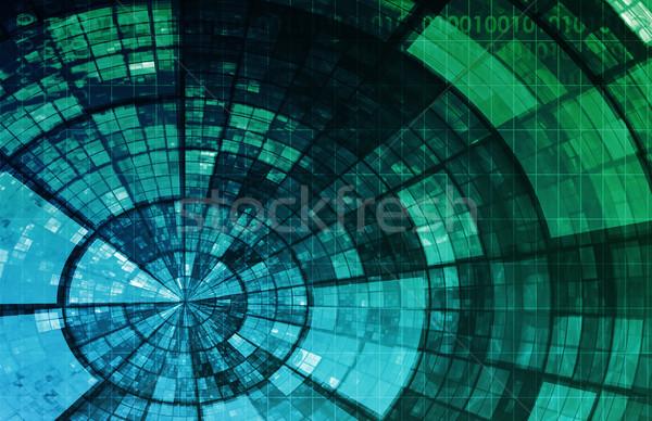 Sieci bezpieczeństwa Internetu danych tle korporacyjnych Zdjęcia stock © kentoh