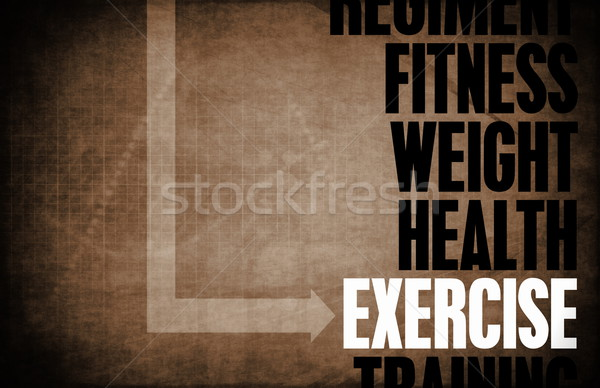 Exercise Stock photo © kentoh