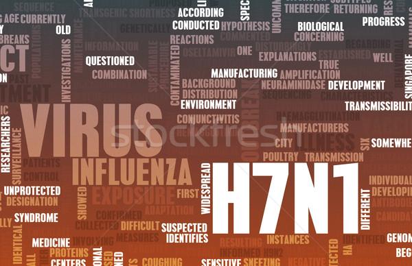 H7N1 Stock photo © kentoh
