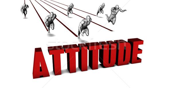 Better Attitude Stock photo © kentoh