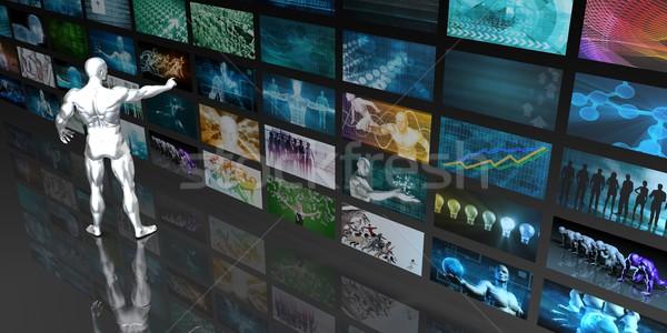 Digital Data Management Stock photo © kentoh