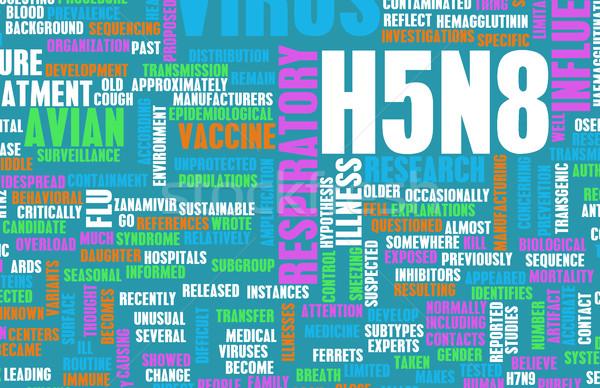 H5N8 Stock photo © kentoh