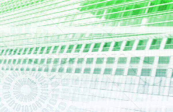 Orvostudomány futurisztikus technológia vírus művészet textúra Stock fotó © kentoh