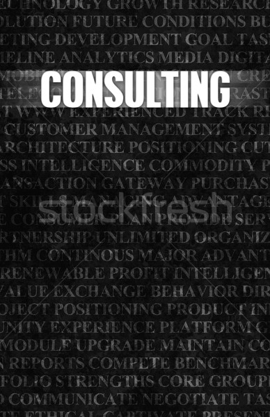 Consulting Stock photo © kentoh