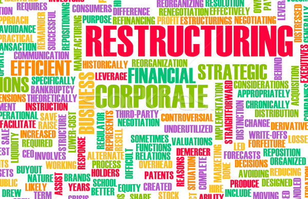 Restructuring Stock photo © kentoh