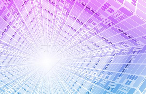 Integrado soluções teia internet atravessar Foto stock © kentoh
