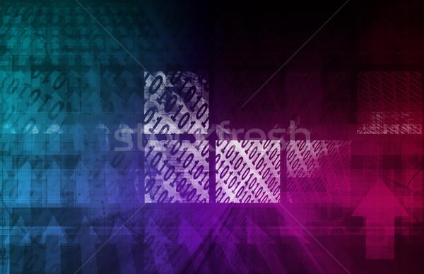 Digital Background Stock photo © kentoh