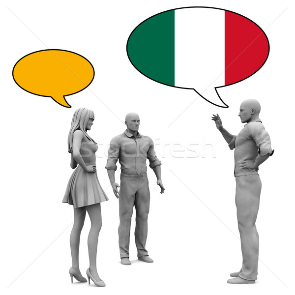 Learn Italian Stock photo © kentoh