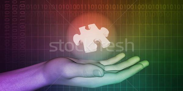 Przemysł farmaceutyczny strony leczyć odkrycie medycznych Zdjęcia stock © kentoh