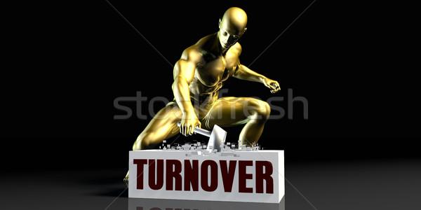 Turnover Stock photo © kentoh