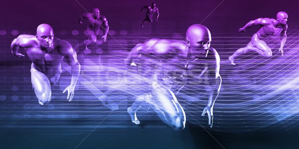未来的な 抽象的な デジタル技術 ビジネス インターネット 背景 ストックフォト © kentoh