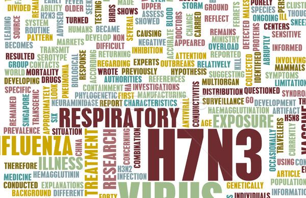 H7N3 Stock photo © kentoh