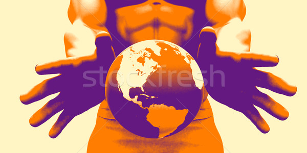 Global Access Stock photo © kentoh