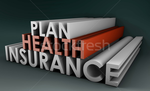 Health Insurance Plan Stock photo © kentoh