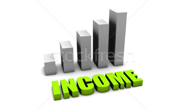 Green Income Stock photo © kentoh