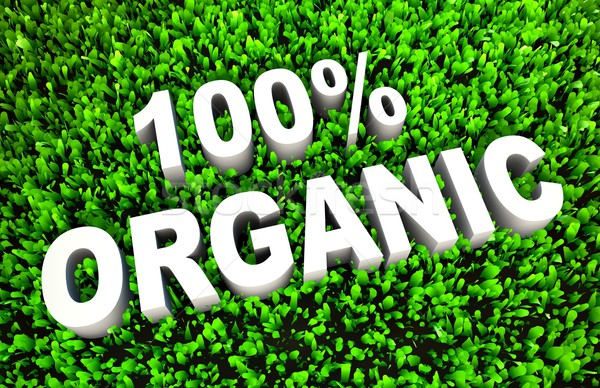 100% Organic Stock photo © kentoh